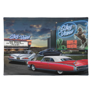 Skyview Drive In 2 Placemat
