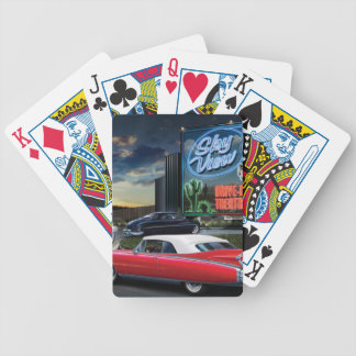 Skyview Drive In Bicycle Playing Cards