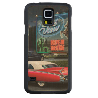 Skyview Drive In Carved Maple Galaxy S5 Case