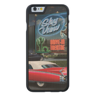 Skyview Drive In Carved Maple iPhone 6 Case