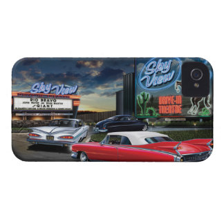 Skyview Drive In iPhone 4 Case