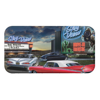 Skyview Drive In iPhone 4 Cover