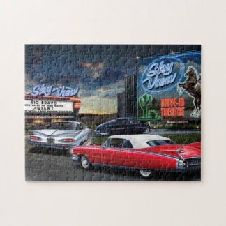 Skyview Drive In Jigsaw Puzzle