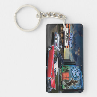 Skyview Drive In Key Ring