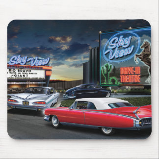 Skyview Drive In Mouse Mat