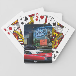 Skyview Drive In Playing Cards