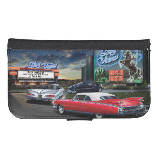 Skyview Drive In Samsung S4 Wallet Case