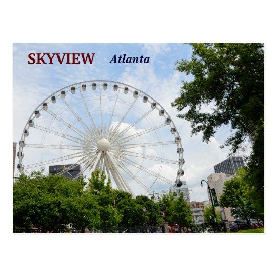 Skyview Ferris Wheel Atlanta, Georgia Postcard