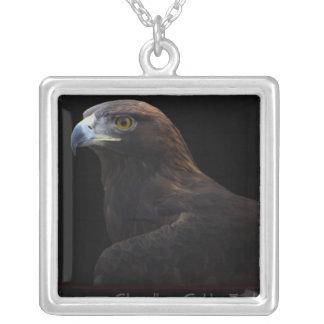 Skywalker the Golden Eagle necklace