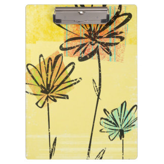 Skyward Flowers Clipboard