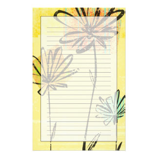 Skyward Flowers Stationery