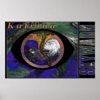 Skywarn Logo - Hurricane Katrina Print
