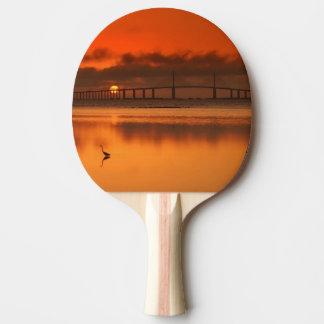 Skyway Bridge Ping Pong Paddle