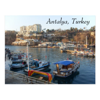 SL384934, Antalya, Turkey Postcard