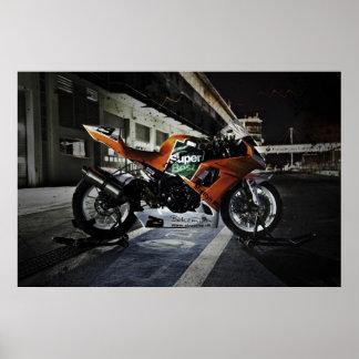 SL Racing s Kawasaki ZX-10R Print