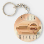 Slack Racket keychain