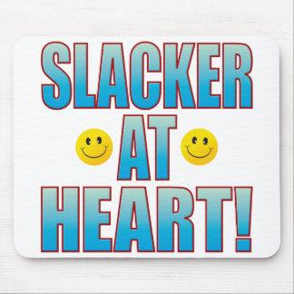 Slacker Heart Life B Mouse Mat