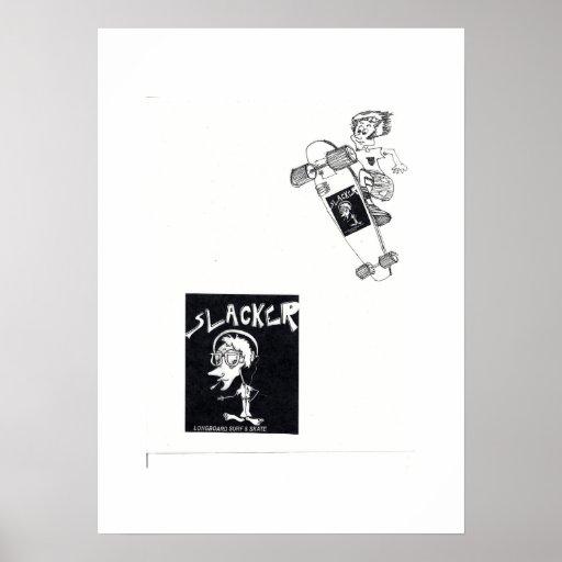 slacker longboarrds poster