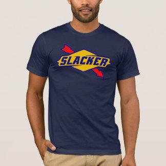 Slacker Sign Logo Parody T-shirt