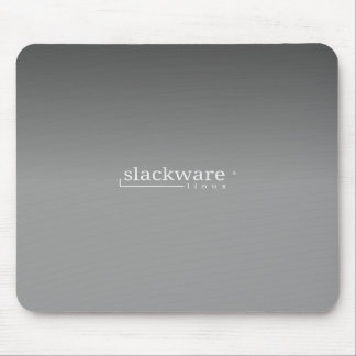 Slackware Linux Grey Mouse Mat