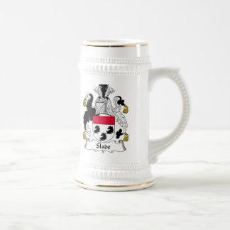 Slade Family Crest Beer Steins