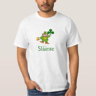 Slainte Shirt Toasting Leprechaun St. Patricks Day