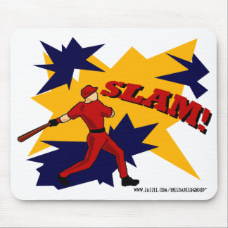 SLAM BASEBALL MOUSEPAD