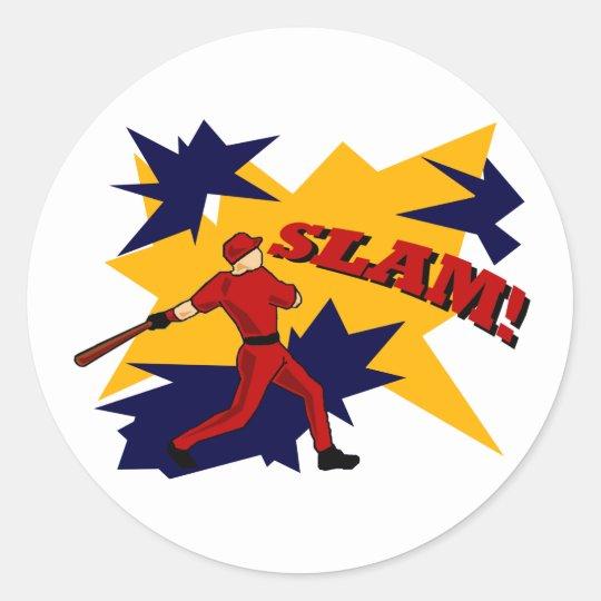 SLAM! BASEBALL STICKER
