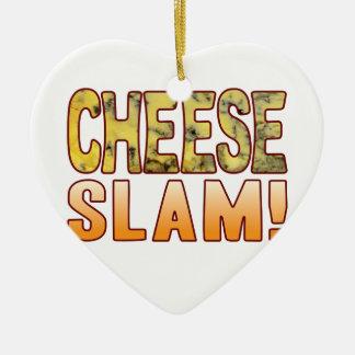 Slam Blue Cheese Christmas Ornament