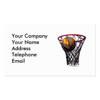 Slam Dunk Basketball Pack Of Standard Business Cards