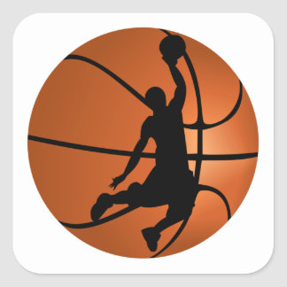 Slam Dunk Basketball Player Stickers