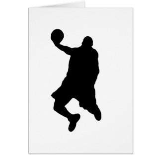 Slam Dunk Player Silhouette Cards