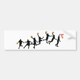 Slam Dunk Sequence Bumper Sticker