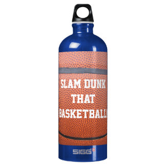 Slam Dunk That Basketball Sports Humor Water Bottle
