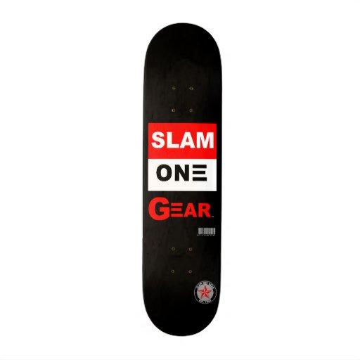 SLAM ONE GEAR SKATE BOARD