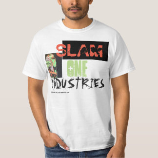 SLAM ONE INDUSTRIES TEE SHIRT