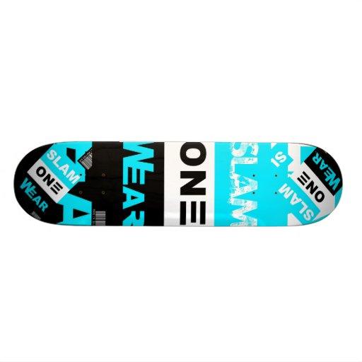 SLAM ONE WEAR Skate Board