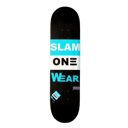 SLAM ONE WEAR Skate Board Skate Decks