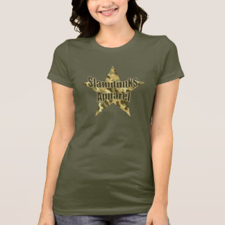Slamdunks camo-star T-shirt