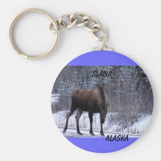 Slana Moose Key Ring