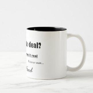 Slang Two-Tone Mug