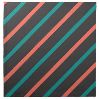 Slanted Stripes cloth napkins