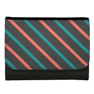 Slanted Stripes custom wallets