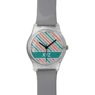 Slanted Stripes custom watches