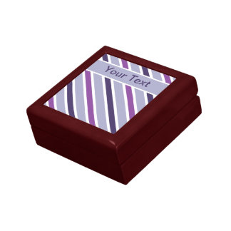 Slanted Stripes gift box, customize Gift Box