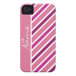 Slanted Stripes iPhone 4 Case-Mate
