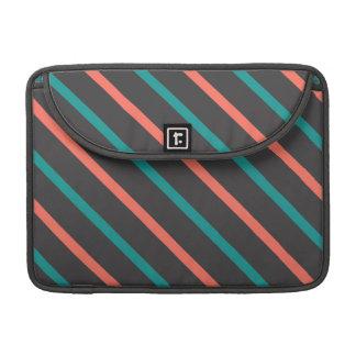 Slanted Stripes MacBook sleeve