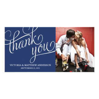 SLANTED | WEDDING THANK YOU PHOTO CARD