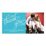 SLANTED | WEDDING THANK YOU PHOTO CARD