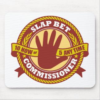 Slap Bet Commissioner Mouse Mats
